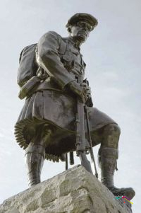 Photo of the 51st Highland Division Memorial
