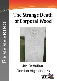 Three-page document focusing on the unusual death of Corporal Woods. Woods was shot by Military Police during a mutiny at the Army Training Base at Etaples. <br/><br/>Page 1