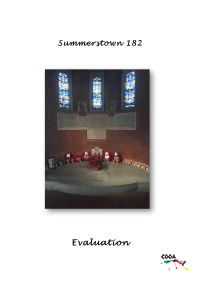 Cover Page: Summertown 182 Evaluation
